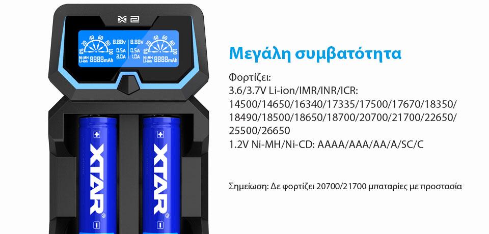 XTAR X2 Charger slider01