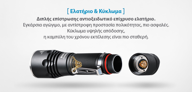 XTAR B20 flashlight slideshow 09
