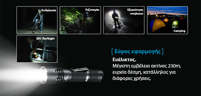 XTAR B20 flashlight slideshow 12