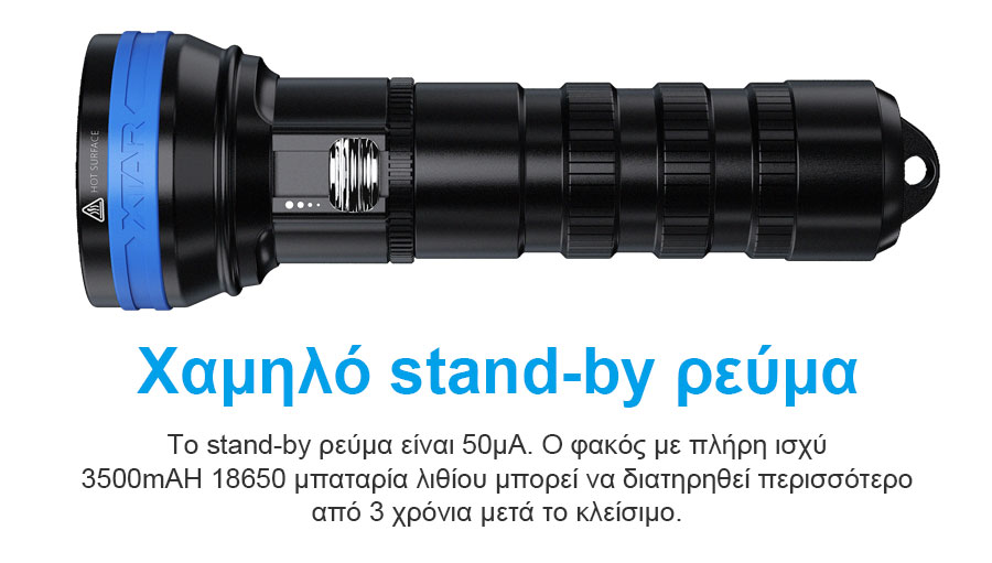 XTAR D06 1200 Diving Flashlight slider06