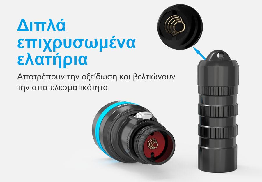 XTAR D06 1600 Diving Flashlight slider09
