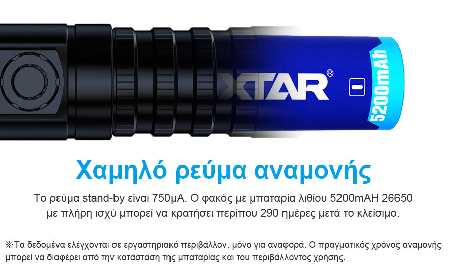 XTAR D26 1600 Diving Flashlight slider09